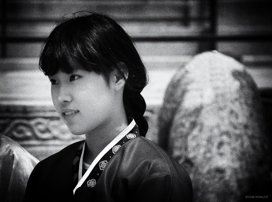 Jeune femme coréenne